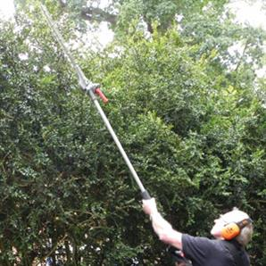 The Efco DS2800H handheld hedgetrimmer from Emak