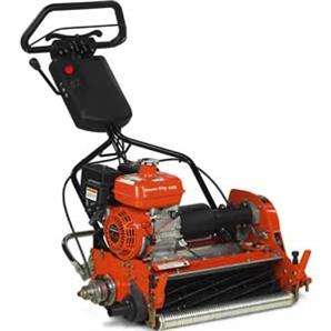 The Greens King 522A pedestrian cylinder mower from Ransomes