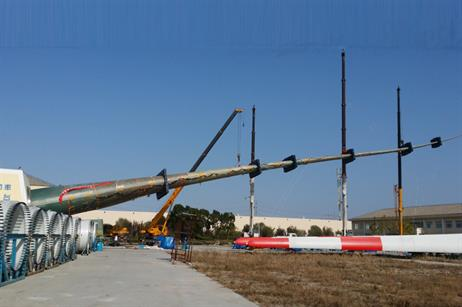 The blade has a swept area of 20,106 metres