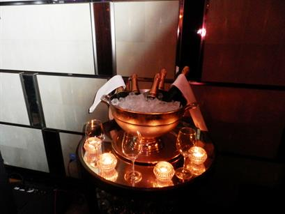 The Winter Champagne Press Party at the Corinthia Hotel