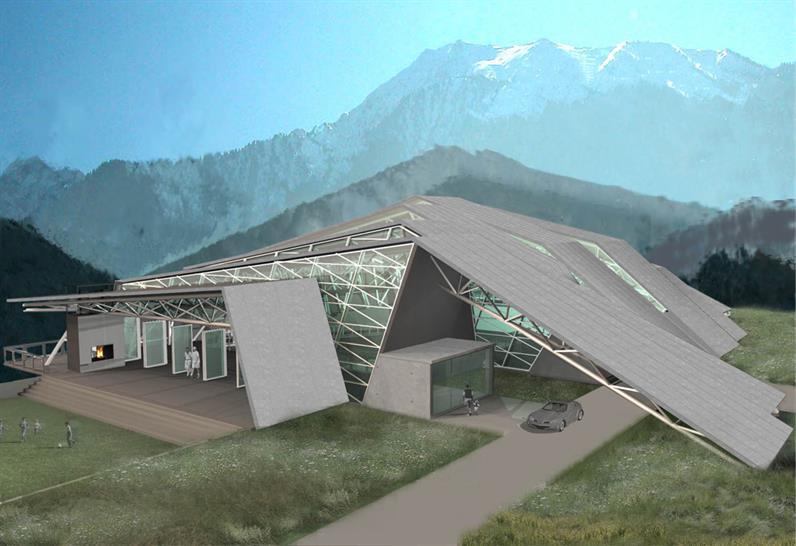 MEDEU SPORTS CENTER Almaty, Kazakhstan by Audrey Matlock Architect