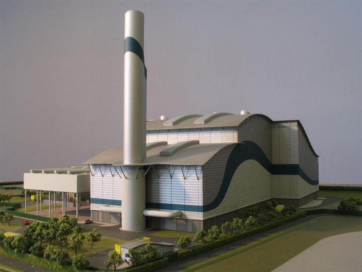 Design concept for the London treatment facility