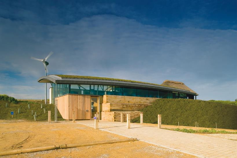 Best Sustainable Development © Cley Marshes Visitor Centre /LSI Architects LLP