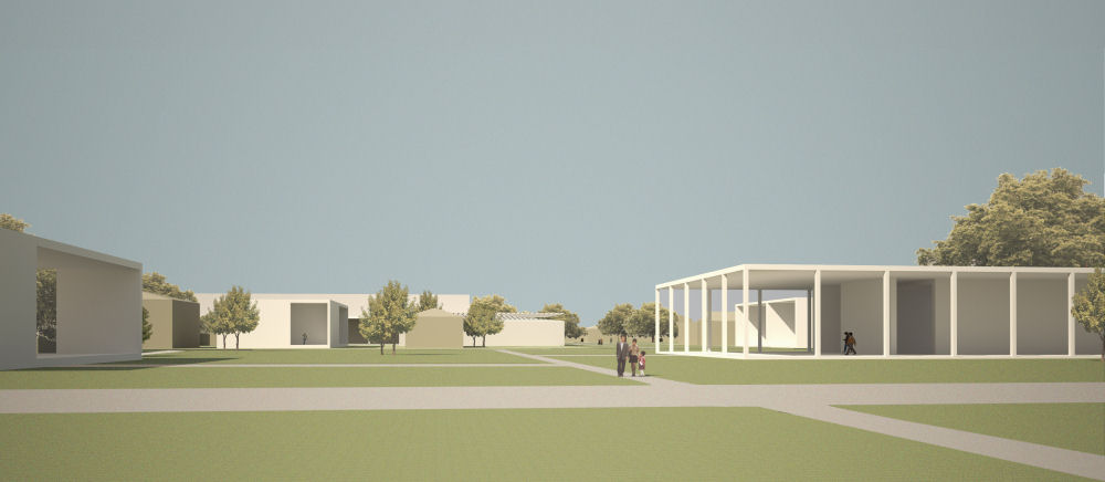 One of several concepts under consideration, Copyright David Chipperfield Architects