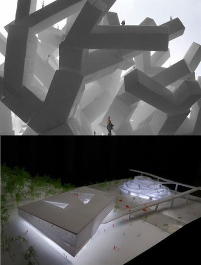 Top: Sou Fujimoto Architects, Bottom: JDS