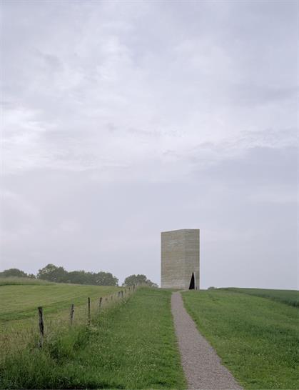 The Field Chapel in Eifel, Germany, photo by Pietro Savorelli