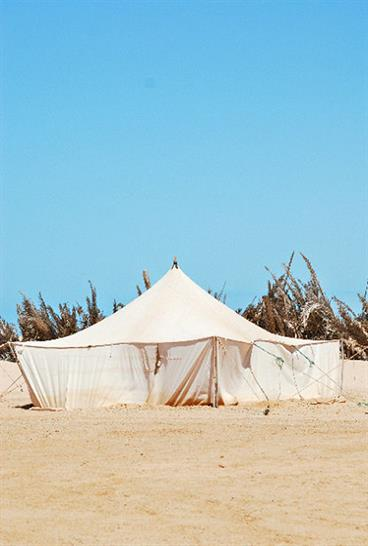 Beduin tents of Mauritania and Morocco
