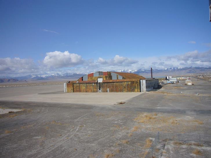 Enola Gay Hangar © Cliff