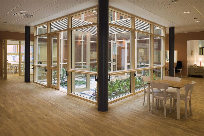Östra Hospital - Psychiatry Building