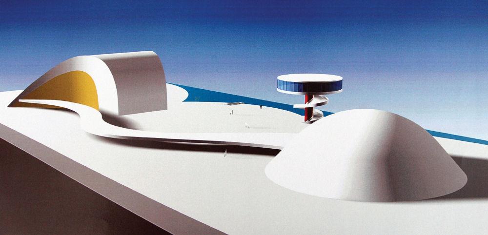 Courtesy of Oscar Niemeyer International Culture Center