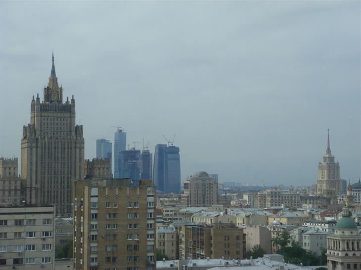 Russia Tower progress