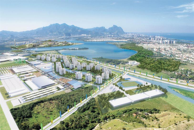 Olympic Village in Barra, Copyright BCMF Arquitetos