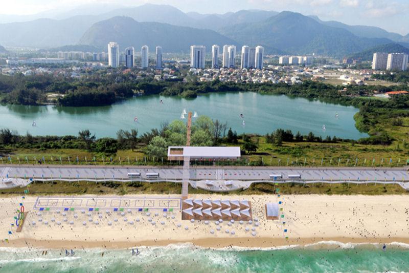 Olympic beach, Copyright LUMO Arquitetos