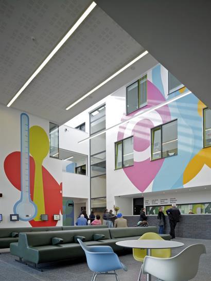 (c) Timothy Soar, Kentish Town Health Centre