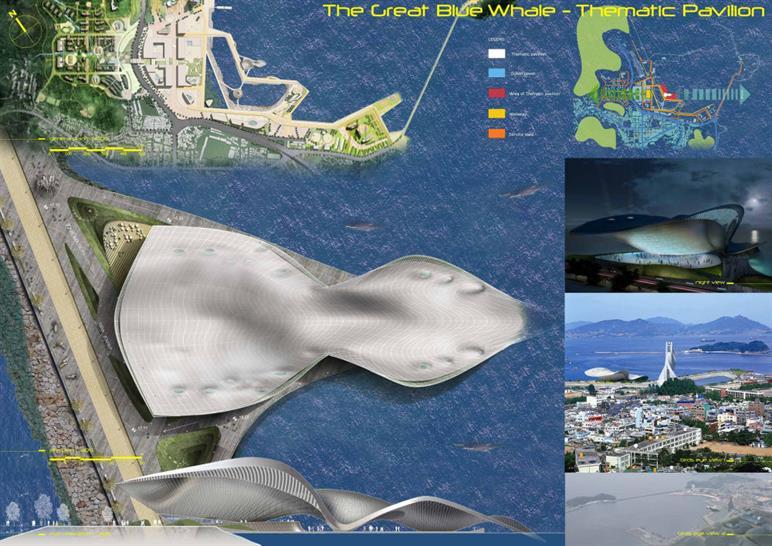 Great Blue Whale by Studio Nicoletti Associati