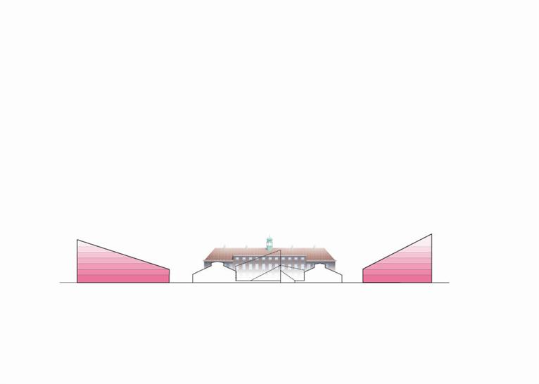 Section of NORD Architects