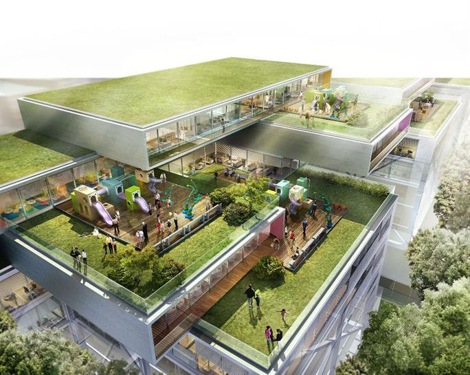 Proposed Therapy Park