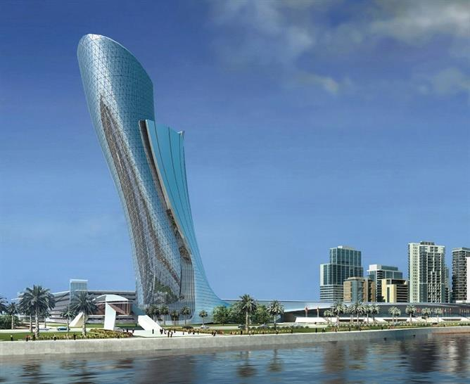 (c) RMJM Capital Gate as it will look upon completion