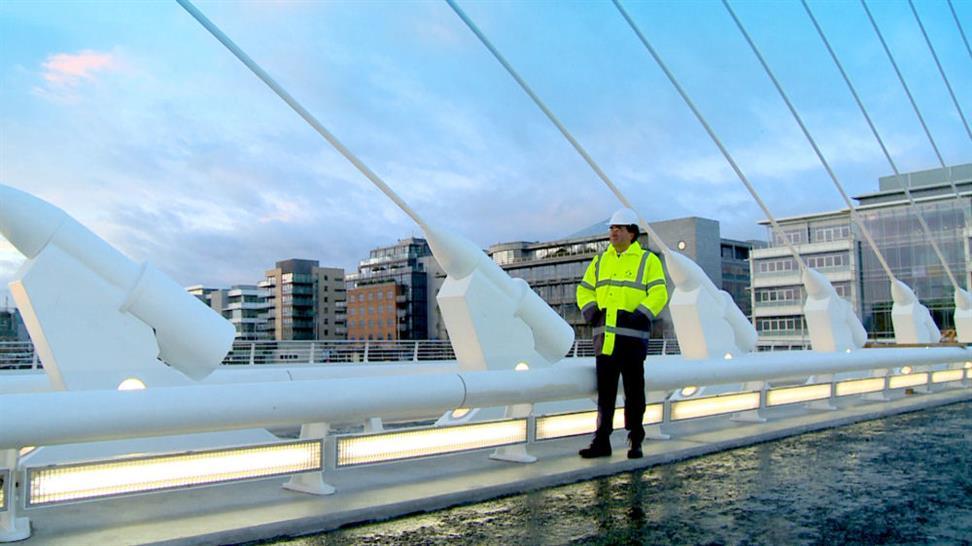Santiago Calatrava surveys his work (c) Digital Post Production