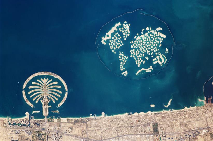 (c) NASA, Dubai coastline Feb 2010