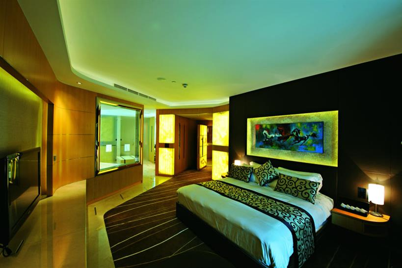 A room at The Meydan (c) Meydan/Teo A. King Design Consultants