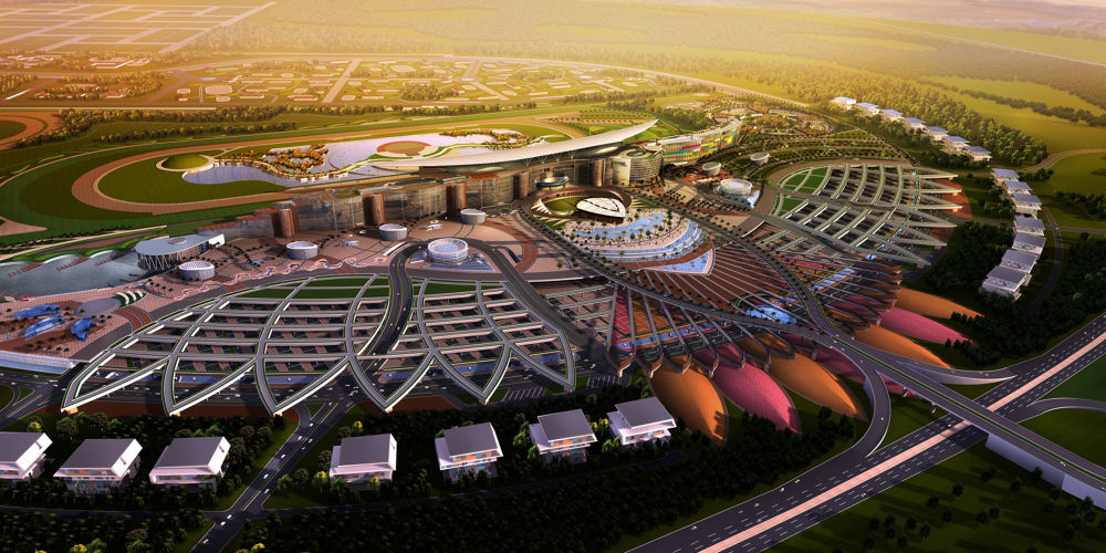 Overview of Meydan Racecourse (c) Meydan/Teo A. King Design Consultants
