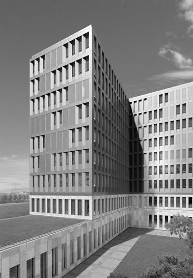 Jan Kleihues, Kleihues + Kleihues Simulation: Stefan Lotz, Berlin - Main building