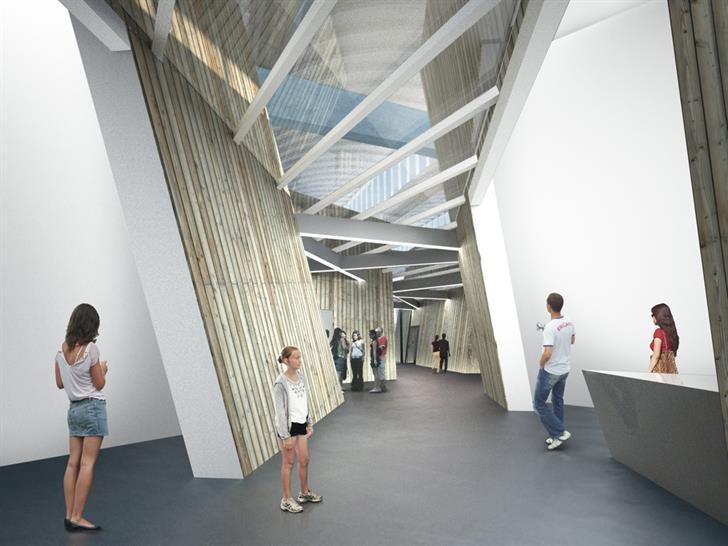 Jewish Museum Berlin - Rendering: bromsky