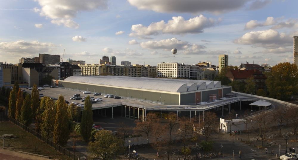 Jewish Museum Berlin, Photo: Jens Zieh, existing flower market