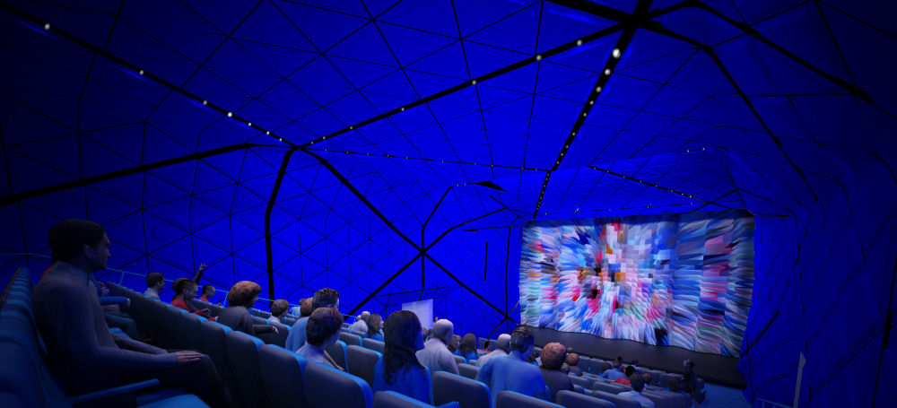 264-seat theater: (vuwstudio.com / Museum of the Moving Image)