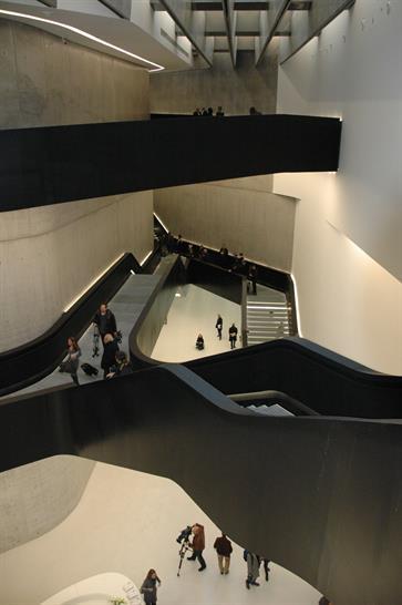 MAXXI, Zaha Hadid, ©Niki May Young and World Architecture News