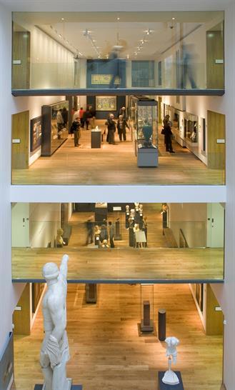 Ashmolean Museum, Rick Mather Architects,  ©Andy Matthews
