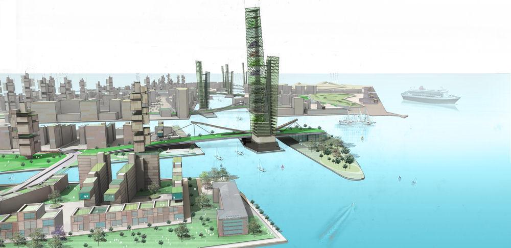 FXFOWLE, Nordhavnen: City Regenerative