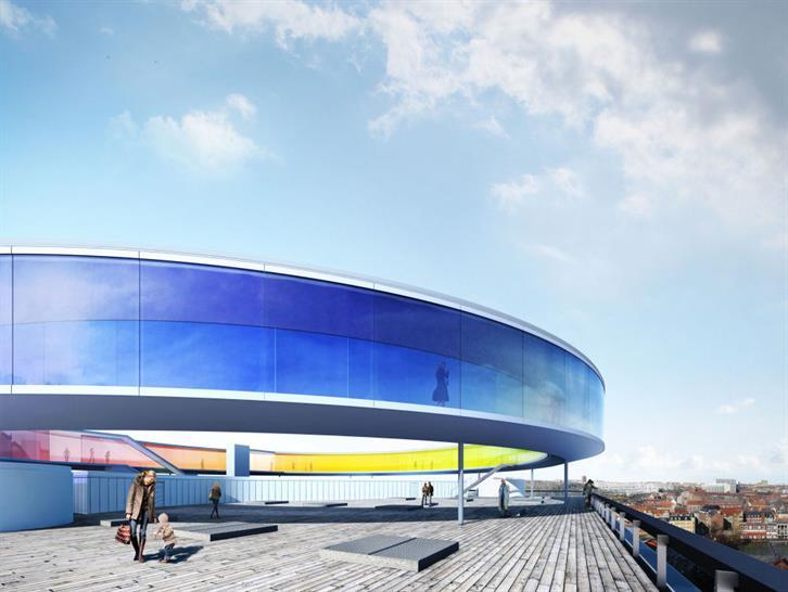 Visualisations of Your rainbow panorama, 2009