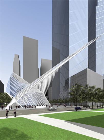 WTC Transportation Hub - Calatrava
