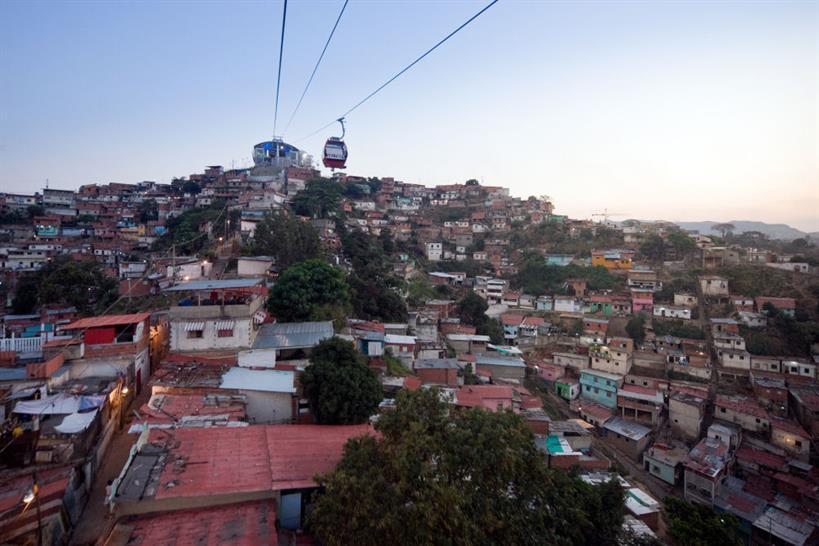 Metro Cable. Caracas, Venezuela.  Architect:  Urban-Think Tank. Photo:  Iwan Baan