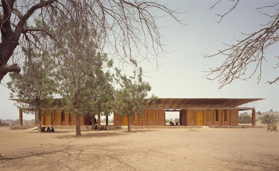Primary School. Gando, Burkina Faso.  Architect: Diébédo Francis Kéré   Photo:  Simeon Duchoud/Aga Khan Trust for Culture