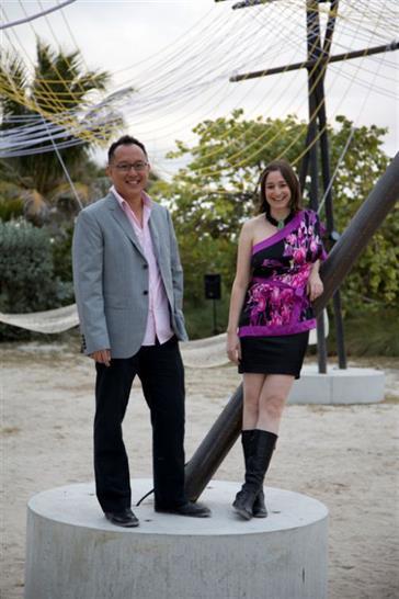 Phu and Rachely; Robin Hill