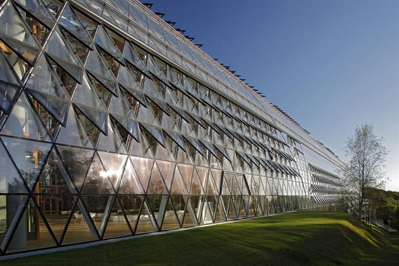 European Investment Bank HQ, Luxembourg, Luxembourg; ingenhoven architects