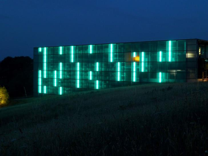 ERCO P3 Automated Warehouse, Germany. Light: Uwe Belzner; Photo: Thomas Schielke