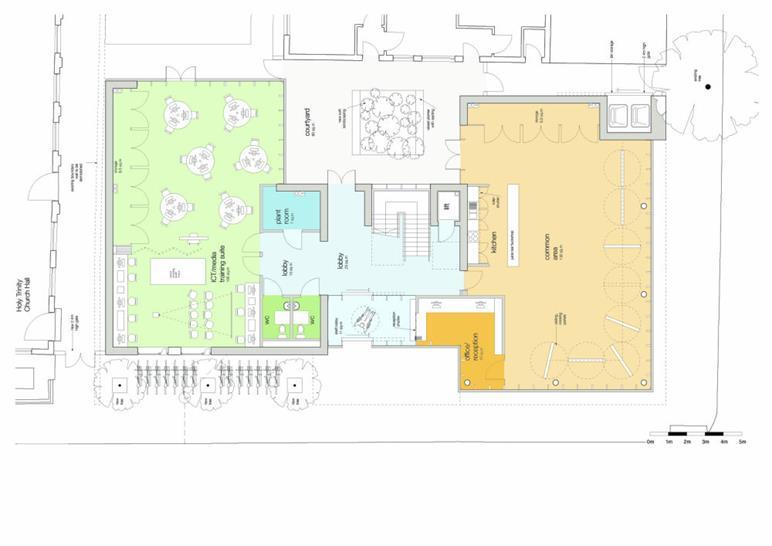 Ground floor: Matthew Lloyd Architects LLP