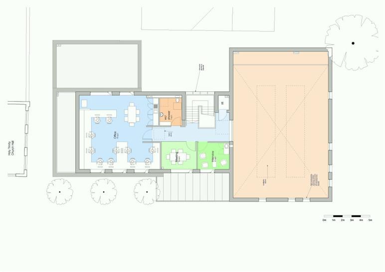 Second floor: Matthew Lloyd Architects LLP
