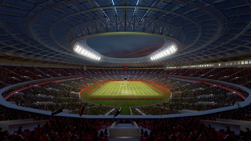 © Crystal CG International, 2010: Luzhniki Stadium