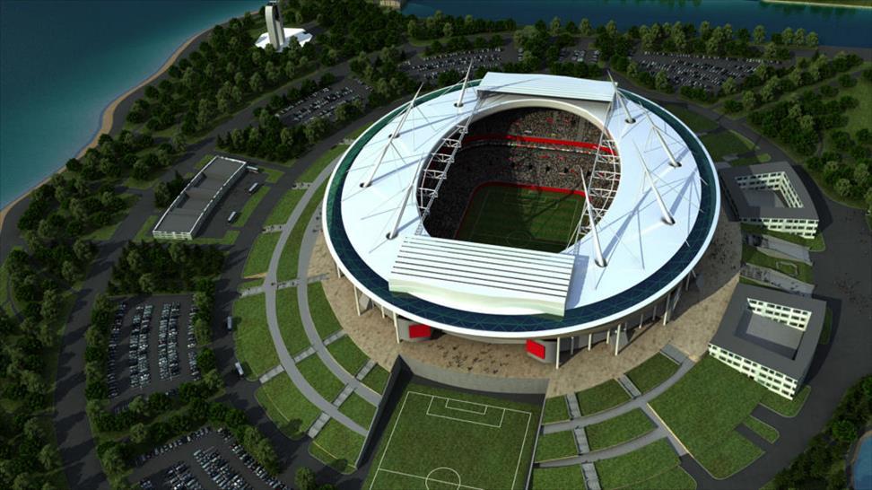 © Crystal CG International, 2010: Saint Petersburg: Saint Petersburg Stadium