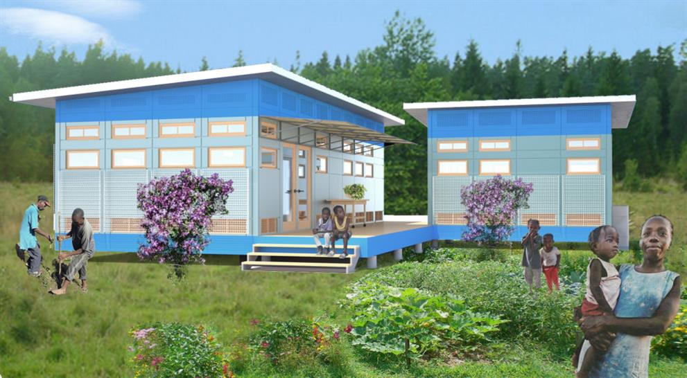 ARCHIVE competition winner; Breathe House