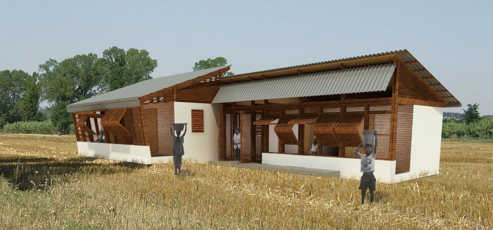 ARCHIVE competition winner; Shutter Dwelling