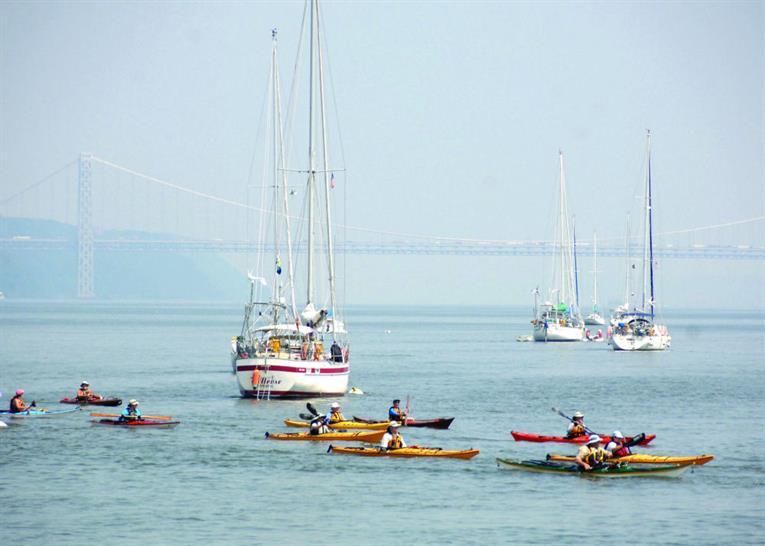 Hudson Kayak Event, Credit: Daniel Avila