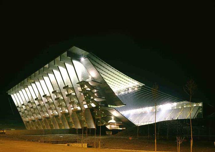 Architecture project for the Braga Stadium Braga, Portugal: Photo by Luis Ferreira Alves