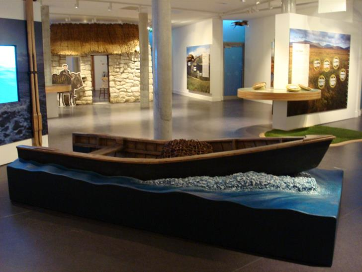 Finished Exhibit, Ballycroy National Park Visitor Centre in Ireland
