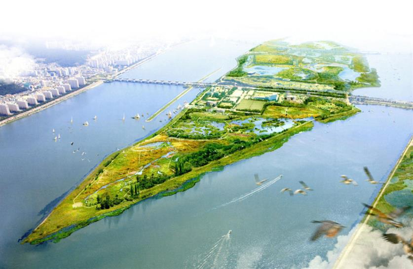 Masterplan for a Wetland Park in Busan, Korea